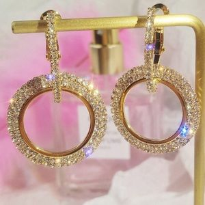 💎Diamond Hoops 18CT Gold filled